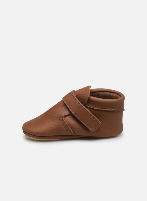 Pantofole Patt'touch Yael Marrone immagine frontale