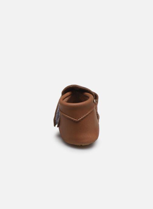 Pantofole Patt'touch Yael Marrone immagine destra