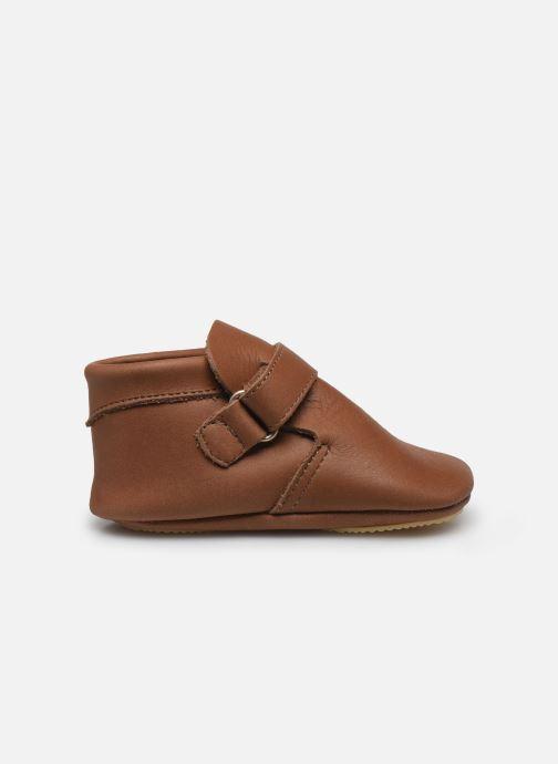 Pantofole Patt'touch Yael Marrone immagine posteriore