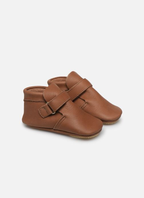 Pantoffels Patt'touch Yael Bruin detail