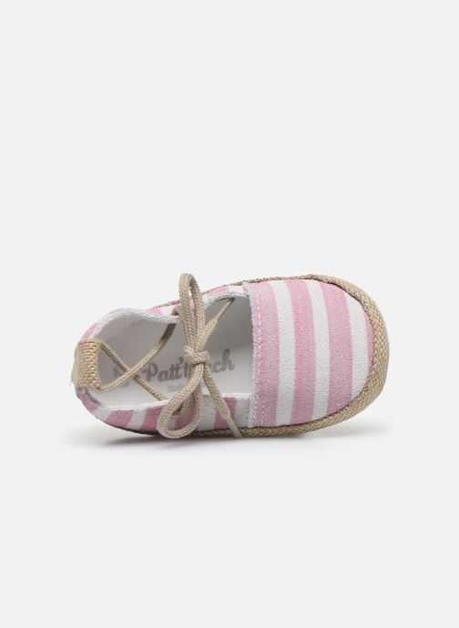 Pantofole Patt'touch Emma Rosa immagine sinistra