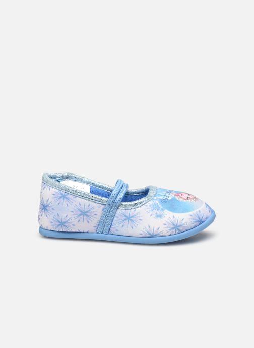 Pantuflas Frozen Sadou Azul vistra trasera