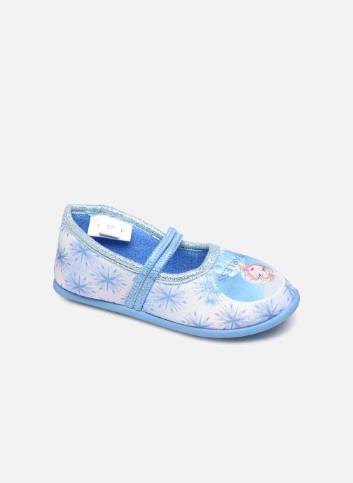 Pantuflas Frozen Sadou Azul vista de detalle / par