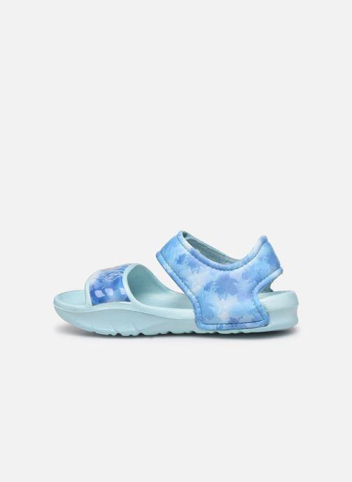 Sandales et nu-pieds Frozen Soucis Violet vue face