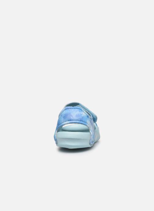 Sandales et nu-pieds Frozen Soucis Violet vue droite