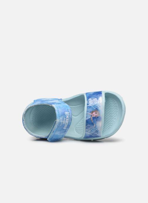 Sandales et nu-pieds Frozen Soucis Violet vue gauche