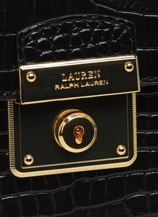 Sacs à main Lauren Ralph Lauren BECKETT 16 CROSSBODY MINI Noir vue gauche