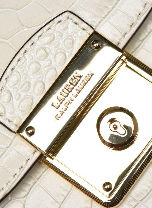 Sacs à main Lauren Ralph Lauren BECKETT 16 CROSSBODY MINI Blanc vue gauche
