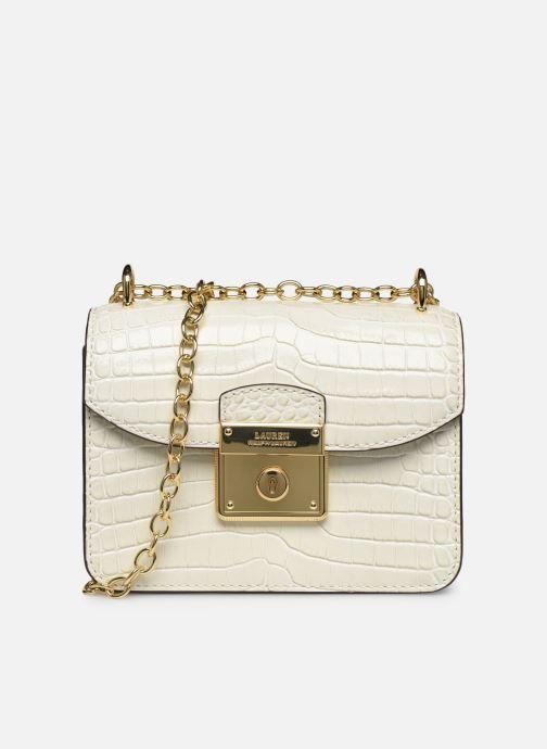 Sacs à main Lauren Ralph Lauren BECKETT 16 CROSSBODY MINI Blanc vue détail/paire