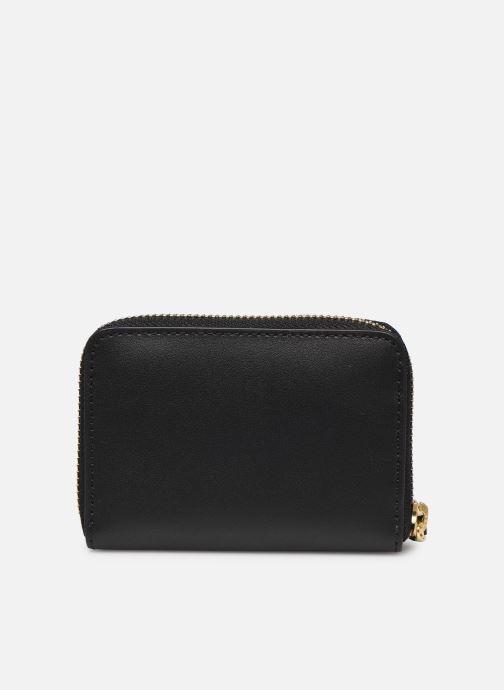 Petite Maroquinerie Lauren Ralph Lauren SM ZIP WALLET SMALL Noir vue face