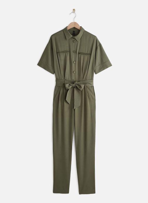 Vêtements Y.A.S YASENDA JUMPSUITS Vert vue détail/paire
