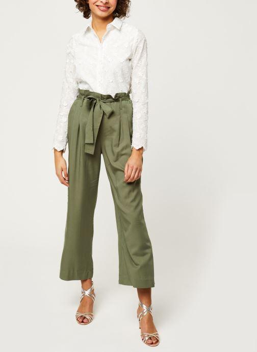 Vêtements Y.A.S YASENDA PANTS Vert vue bas / vue portée sac