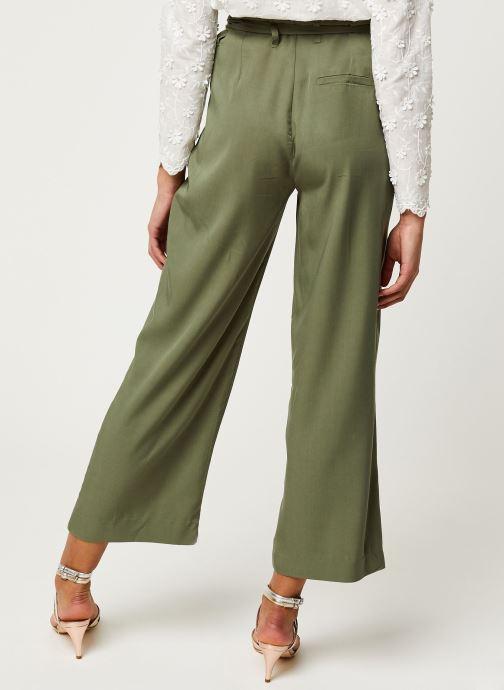 Vêtements Y.A.S YASENDA PANTS Vert vue portées chaussures