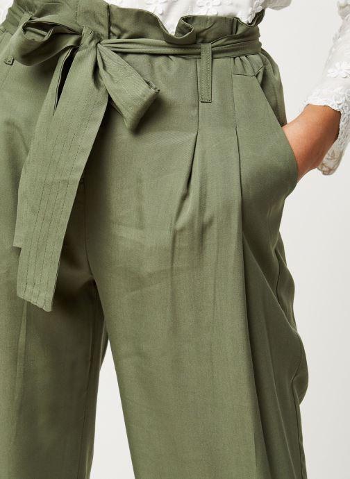 Vêtements Y.A.S YASENDA PANTS Vert vue face