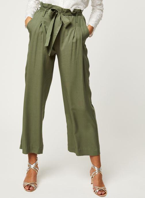 Vêtements Y.A.S YASENDA PANTS Vert vue détail/paire