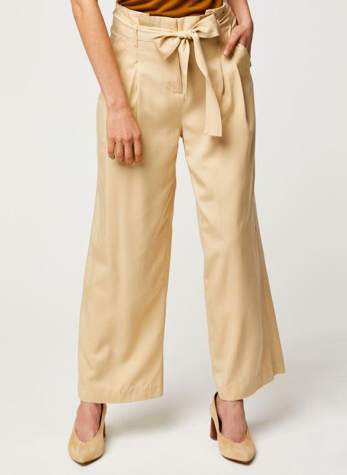 Vêtements Y.A.S YASENDA PANTS Beige vue détail/paire