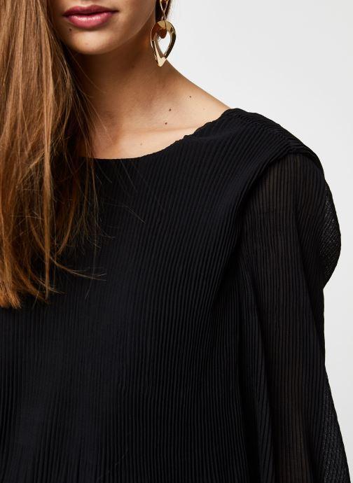 Vêtements Y.A.S YASKRYSTLE L/S TOPS Noir vue face