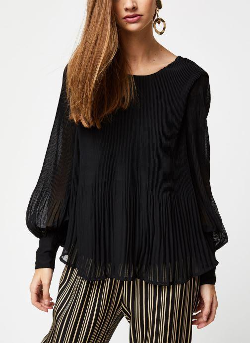 Vêtements Y.A.S YASKRYSTLE L/S TOPS Noir vue droite
