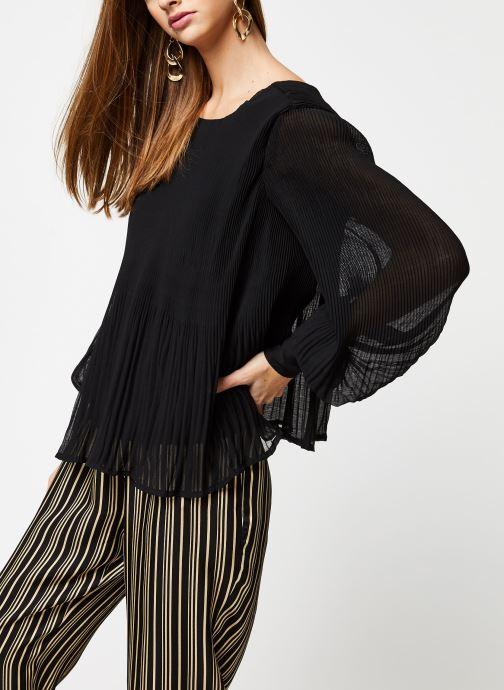 Vêtements Y.A.S YASKRYSTLE L/S TOPS Noir vue détail/paire