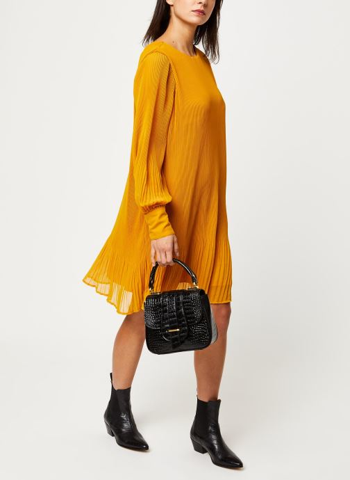 Vêtements Y.A.S YASKRYSTLE SHORT DRESSES Jaune vue bas / vue portée sac