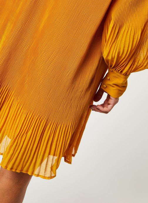 Vêtements Y.A.S YASKRYSTLE SHORT DRESSES Jaune vue face