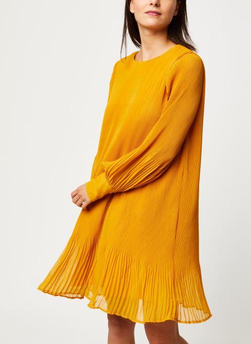 Vêtements Y.A.S YASKRYSTLE SHORT DRESSES Jaune vue droite
