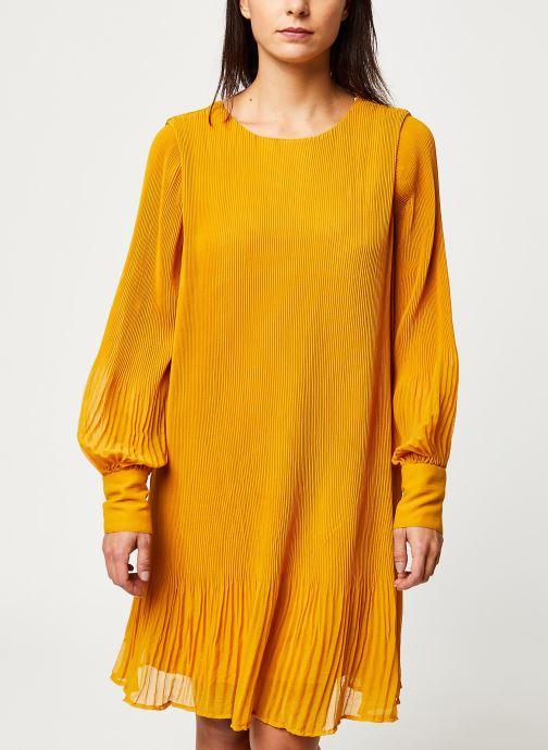 Vêtements Y.A.S YASKRYSTLE SHORT DRESSES Jaune vue détail/paire
