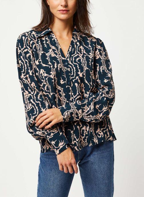 Vêtements Y.A.S YASMOLE L/S TOPS Bleu vue droite