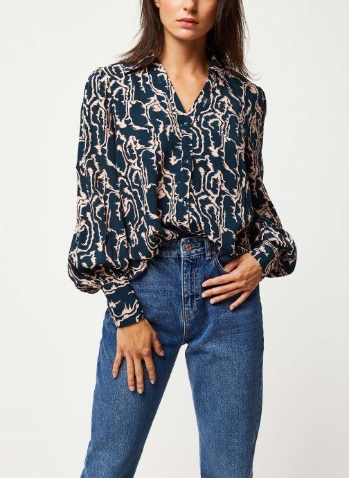 Vêtements Y.A.S YASMOLE L/S TOPS Bleu vue détail/paire