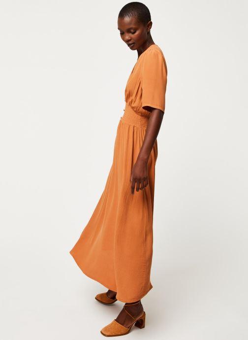 Vêtements Y.A.S YASNILANA LONG DRESSES Beige vue bas / vue portée sac