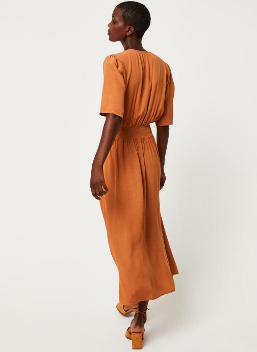Vêtements Y.A.S YASNILANA LONG DRESSES Beige vue portées chaussures
