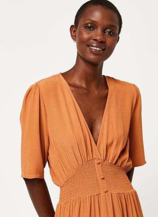 Vêtements Y.A.S YASNILANA LONG DRESSES Beige vue face