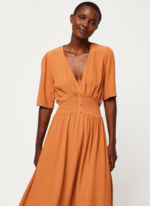 Vêtements Y.A.S YASNILANA LONG DRESSES Beige vue droite