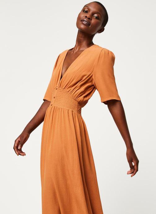 Vêtements Y.A.S YASNILANA LONG DRESSES Beige vue détail/paire