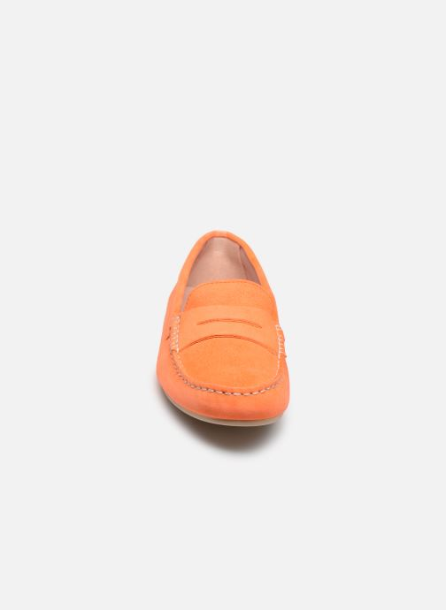 Mocassini Pretty Ballerinas 48917 Arancione modello indossato
