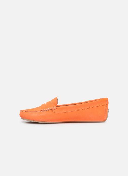 Mocassins Pretty Ballerinas 48917 Orange vue face