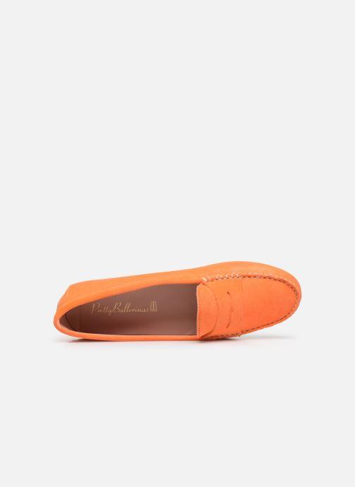 Mocassins Pretty Ballerinas 48917 Orange vue gauche