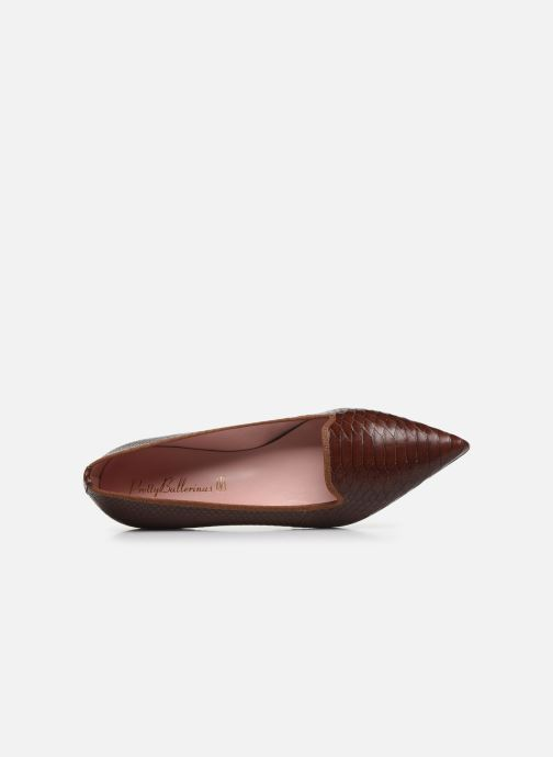 Ballerines Pretty Ballerinas 44158 Marron vue gauche