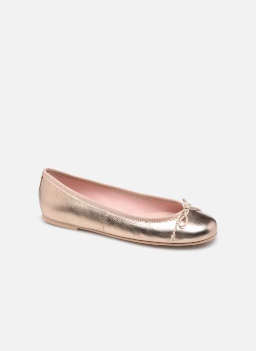 Bailarinas Pretty Ballerinas 35629 Oro y bronce vista de detalle / par