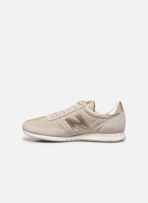 Sneaker New Balance WL720 beige ansicht von vorne