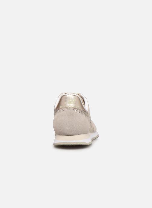 Sneaker New Balance WL720 beige ansicht von rechts