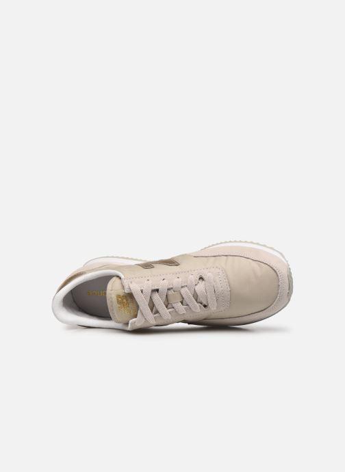 Sneaker New Balance WL720 beige ansicht von links