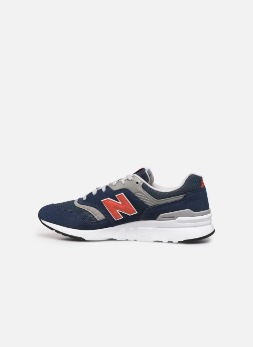 Baskets New Balance CM997 Bleu vue face