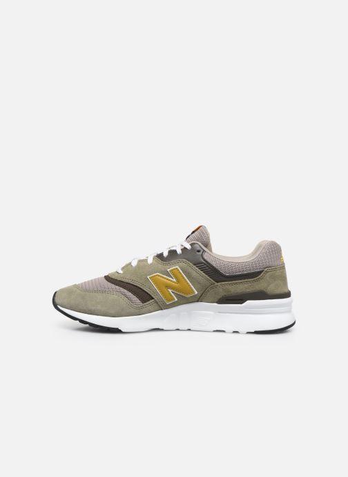 Sneakers New Balance CM997 Groen voorkant