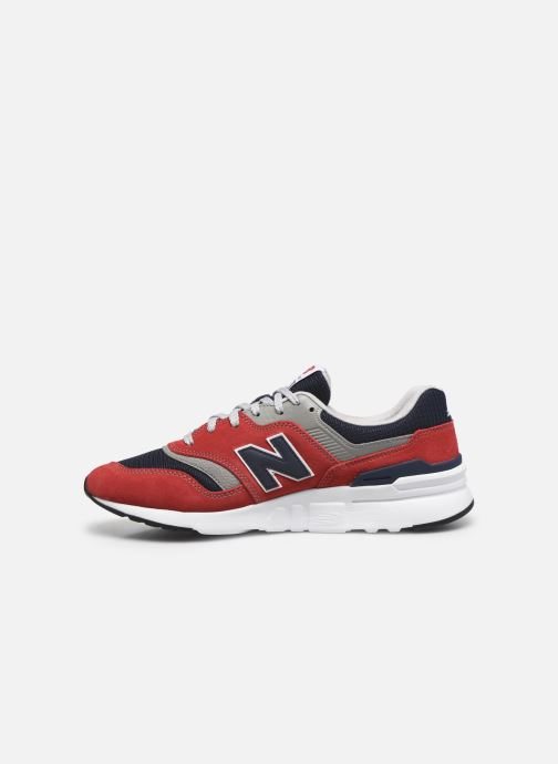 Baskets New Balance CM997 Rouge vue face