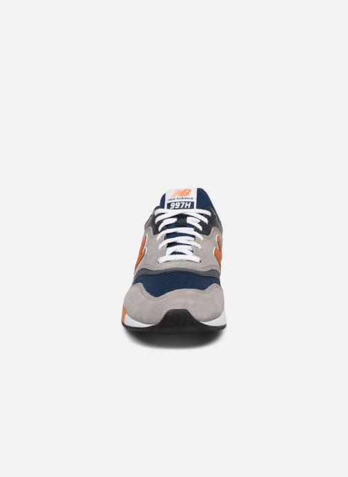 Sneaker New Balance CM997 grau schuhe getragen