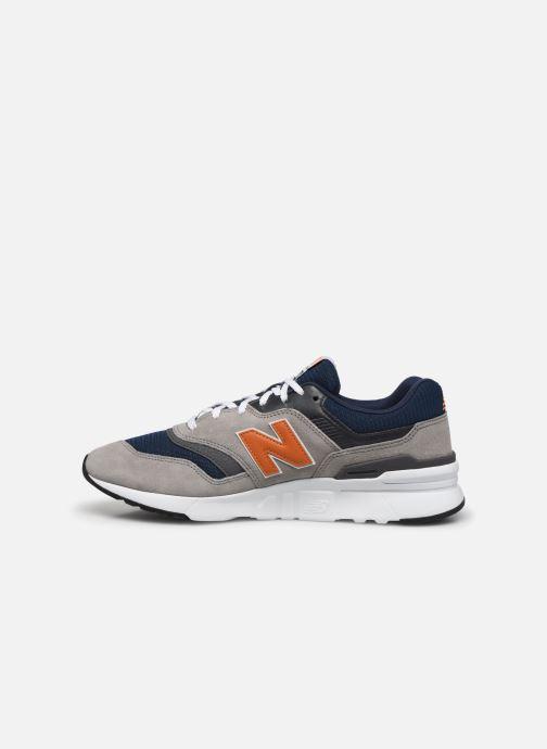 Sneaker New Balance CM997 grau ansicht von vorne