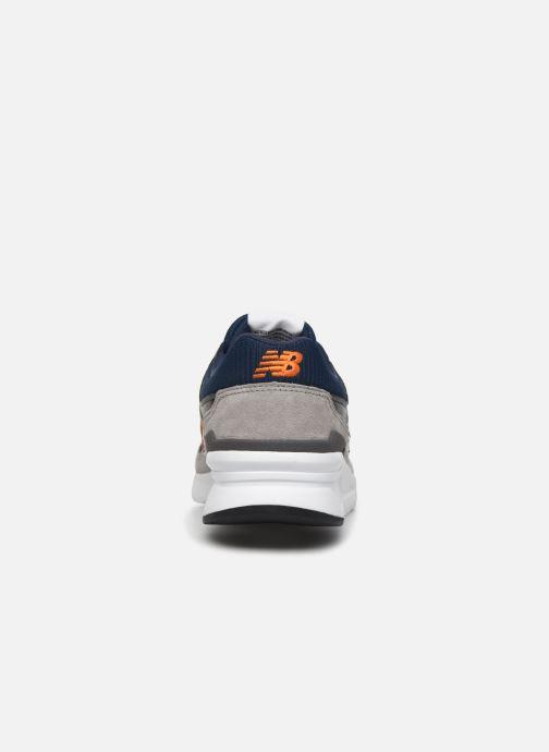 Sneaker New Balance CM997 grau ansicht von rechts