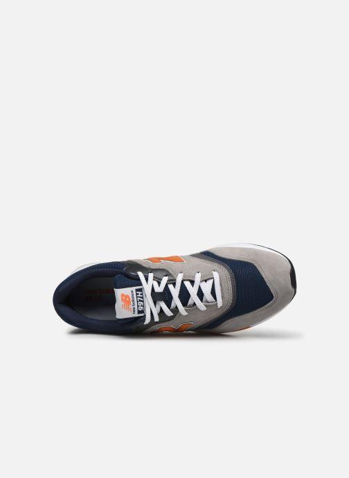 Sneaker New Balance CM997 grau ansicht von links