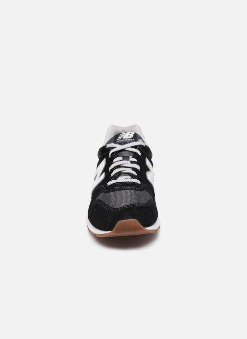 Sneaker New Balance CM996 schwarz schuhe getragen